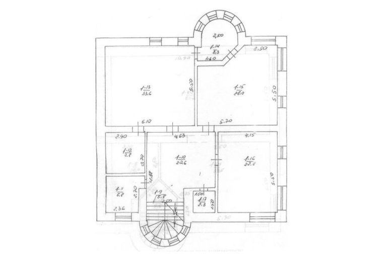 Продаётся дом 528 кв.м. - с. Креничи, Обуховский р-н (17)