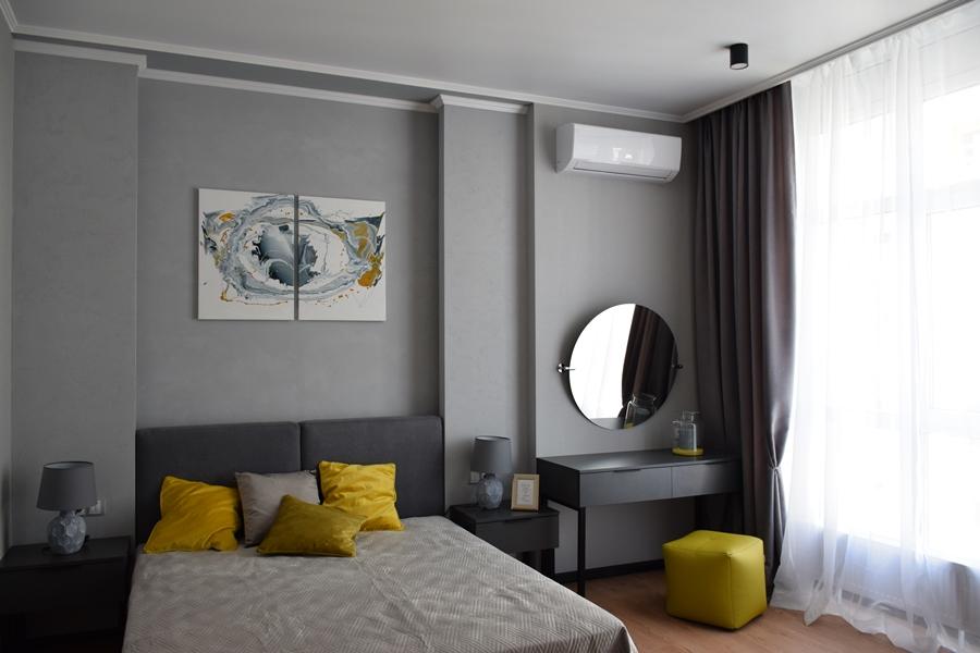 Двухкомнатная квартира – ул. Тютюнника (Анри Барбюса), 53 – ЖК «Французский квартал» – 32000 грн/месяц